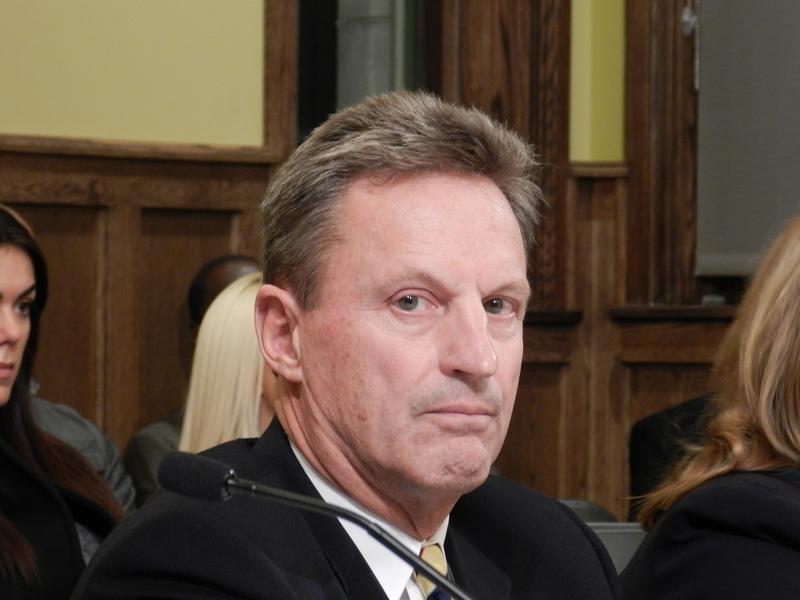 Former BWL GM, Peter Lark.