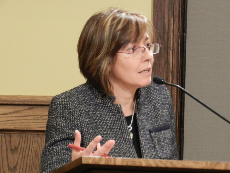 """""""Let me tell you, when you have live wires down for nine to 12 days, safety is not job one,"""" BWL customer Alice Dreger told the BWL commissioners at the meeting."""