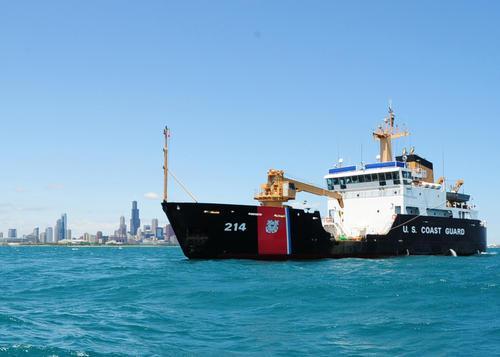 U.S. Coast Guard cutter Hollyhock (file photo)