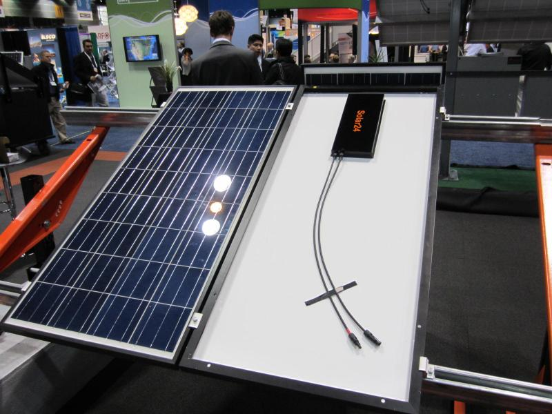 Solar 24 on display at Solar Power International conference in Chicago in 2013.