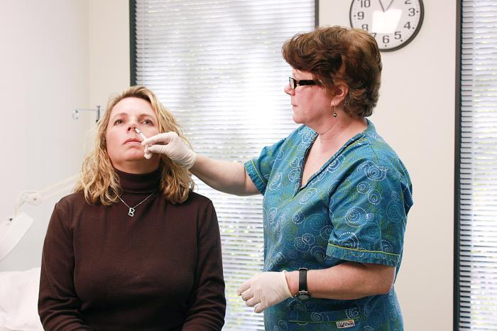 If you hate flu shots...you can get a nasal spray vaccine