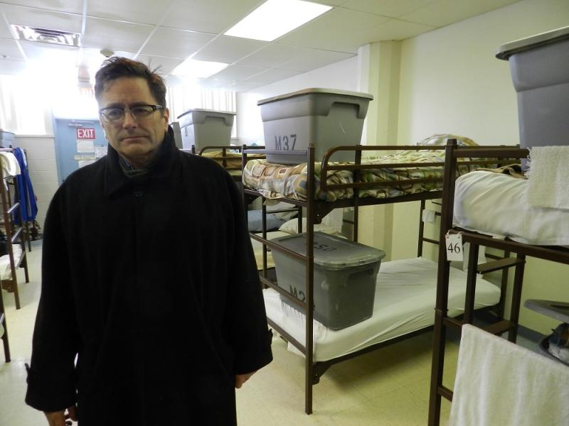 """""""It's been a significant burden both on the staff and the facility itself,"""" says Darin Estep with Volunteers of America, about the ongoing frigid temperatures."""