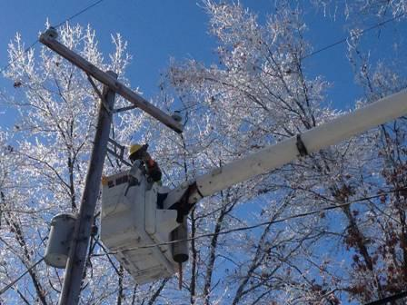 Linemen worked for more than a week to restore power to tens of thousands of Michiganders during the holidays.