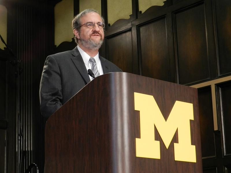 University of Michigan President Mark Schlissel