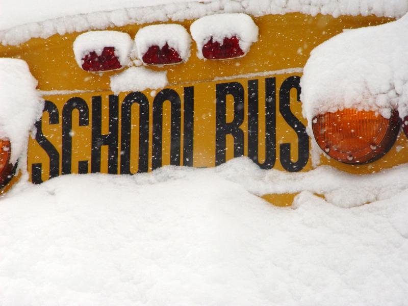 A new bill may change how schools make up lost instruction time due to snow days.