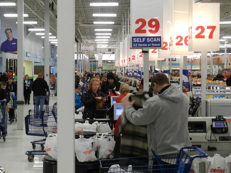 46% of Michigan retailers report their sales were down last month, compared to January 2013. Only 30% said their cash registers were busier.