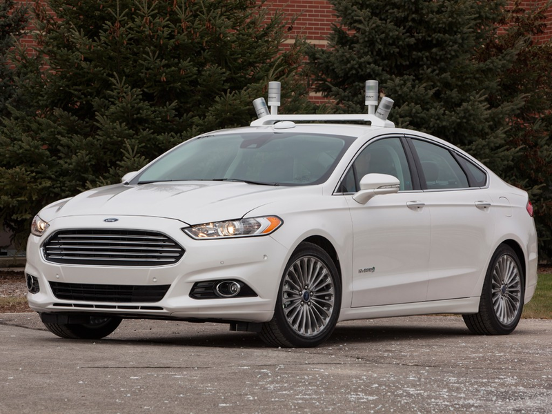 Self-driving vehicle from Ford