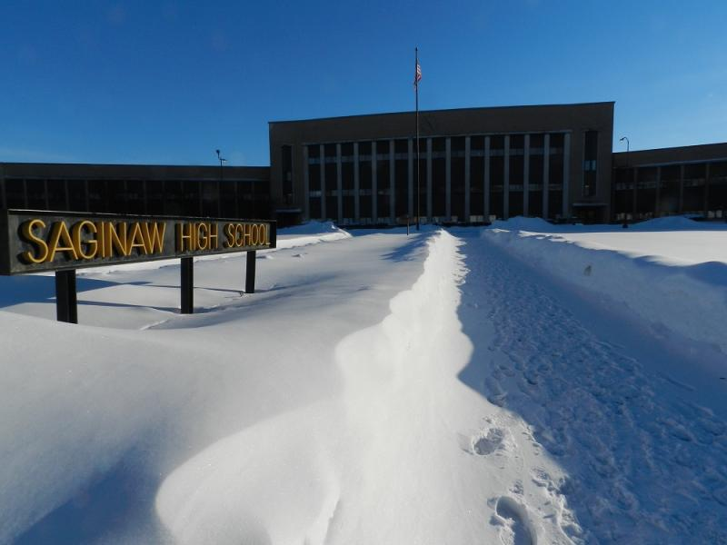 The future of Saginaw High School remains on the line as district officials consider a plan that may shutdown the school building.