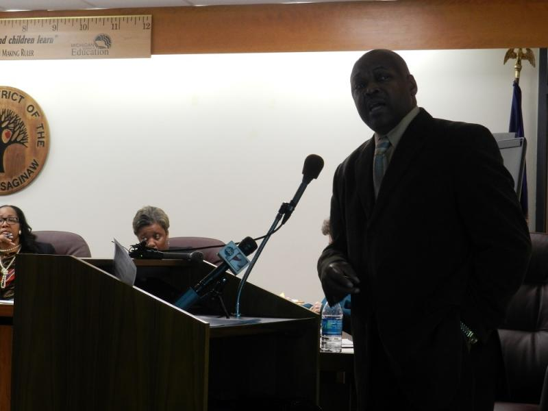 "Saginaw Superintendent Carlton Jenkins says ""people can rally around (a plan) that can rebuild Saginaw Public Schools."""