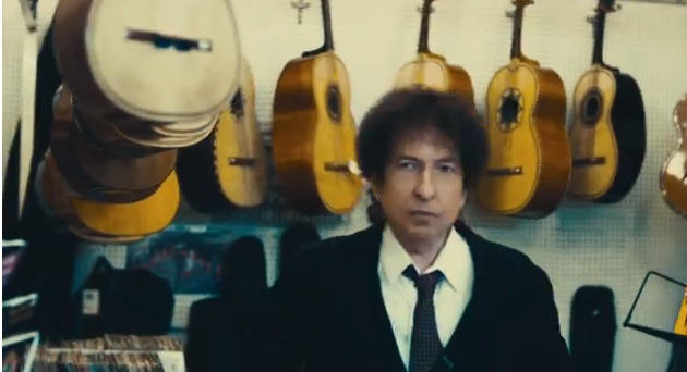 Bob Dylan in Chrysler's latest Super Bowl ad.
