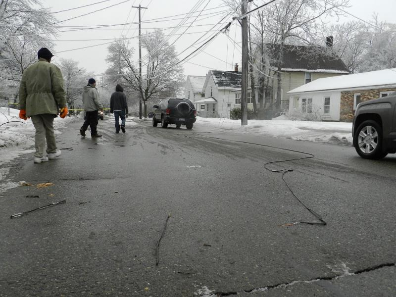 The Dec. 22 ice storm knocked out power to about 40% of the Board of Water & Light's customers
