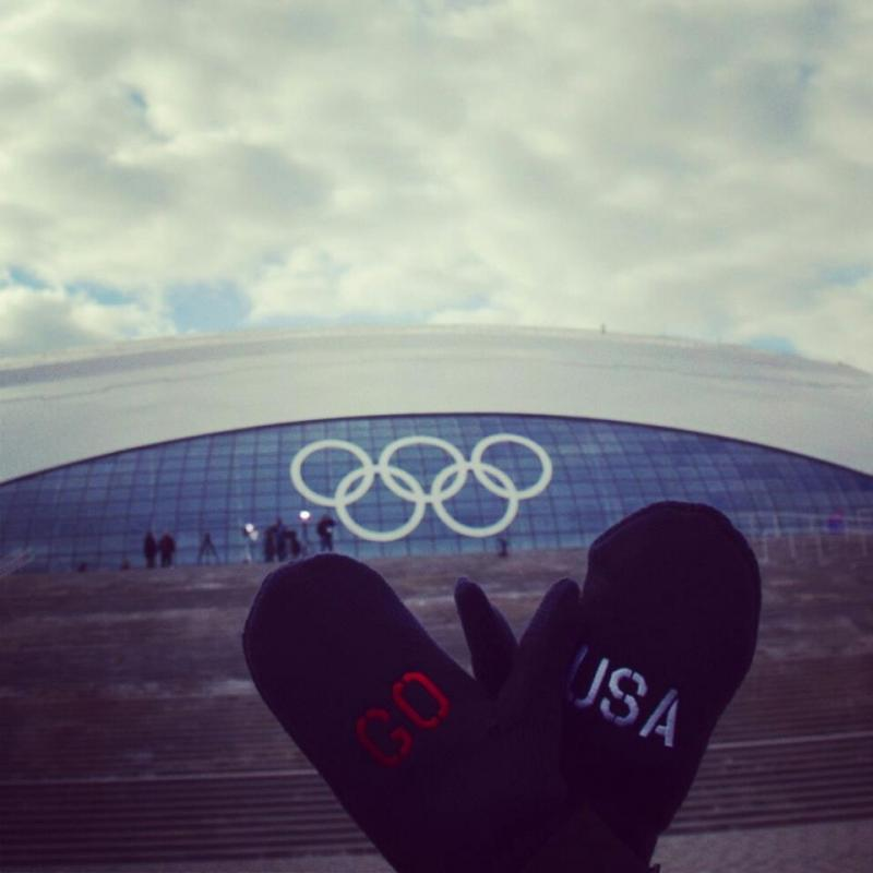 At the Olympics in Sochi.