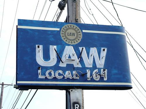 The United Auto Workers is blaming outside interference for their defeat this month in a union election at a Volkswagen plant.