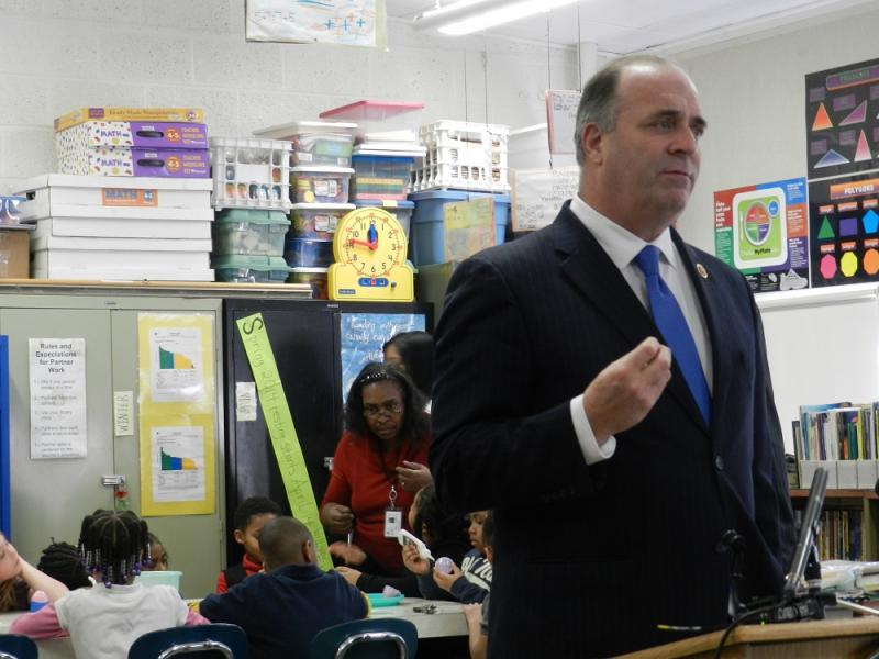 ":It pays off. And it pays off in fairly short order,""  Rep. Dan Kildee (D-Flint) told reporters at a news conference on ""after school"" programs."