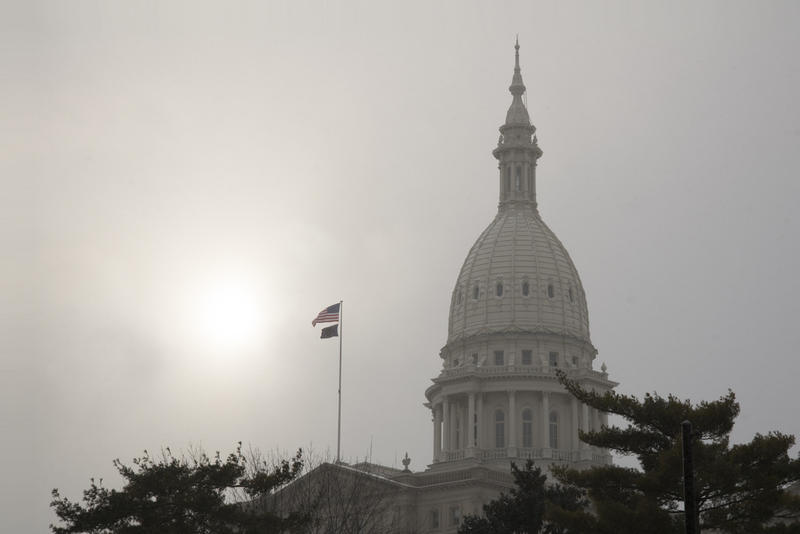 The Capital Dome in Lansing, Michigan.