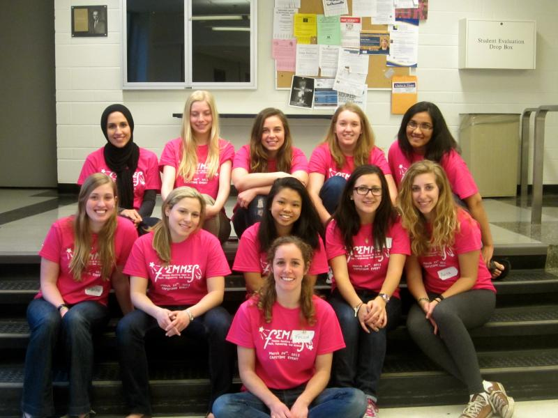 FEMMES volunteers.