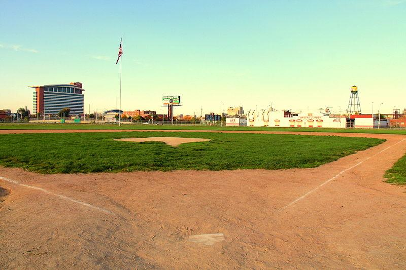 The site of the former Tiger Stadium in 2011.