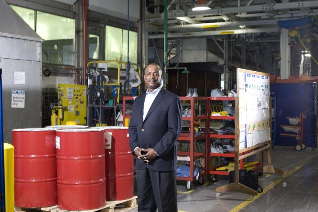 Leon Richardson, President and CEO of ChemicoMays, one of GM's diversity suppliers