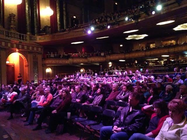 On opening night, the festival audience filled most of the Fillmore Theater in Detroit.