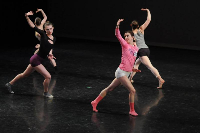 Grand Rapids Ballet performers.