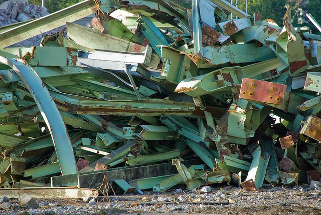 There are competing bills to regulate scrap metal yards in Michigan.