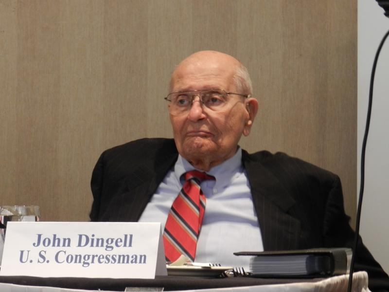 Dingell's office says the 87-year-old Democrat recently developed atrial fibrillation.