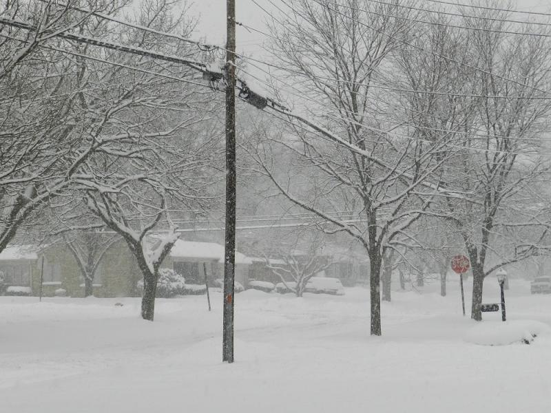 The National Weather Service reports 5.1 inches of new snow in Jackson County.