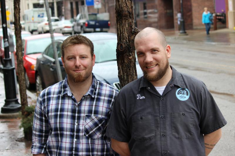 Kyle DeWitt and Tim Schmidt, both 32, are trying to become the first people in Michigan to use a new crowdfunding law passed by Gov. Snyder in December. They want to open a brewery in Tecumseh.