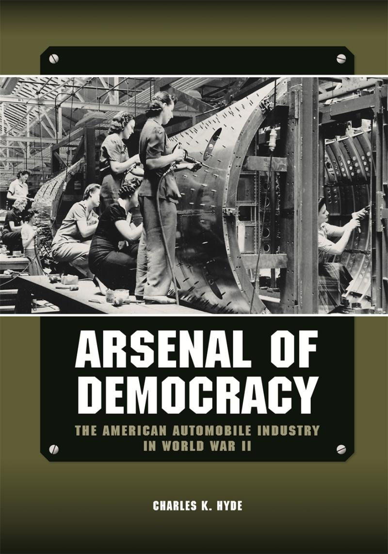Arsenal of Democracy book cover.