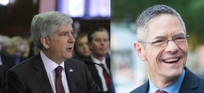 How accurate are current polls that show Snyder and Schauer neck and neck?
