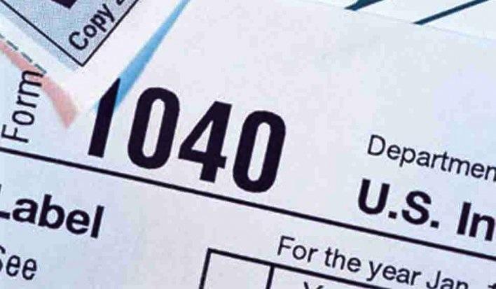 IRS Form 1040.