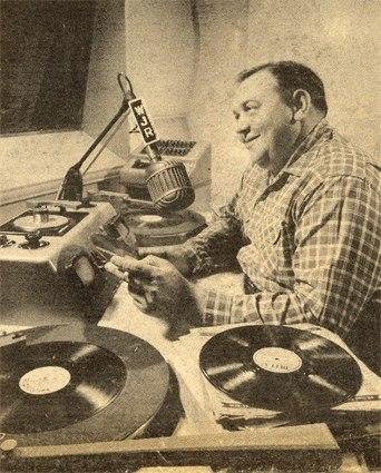 Casey Clark was a disk jockey at WJR radio Detroit during the mid-1950s.