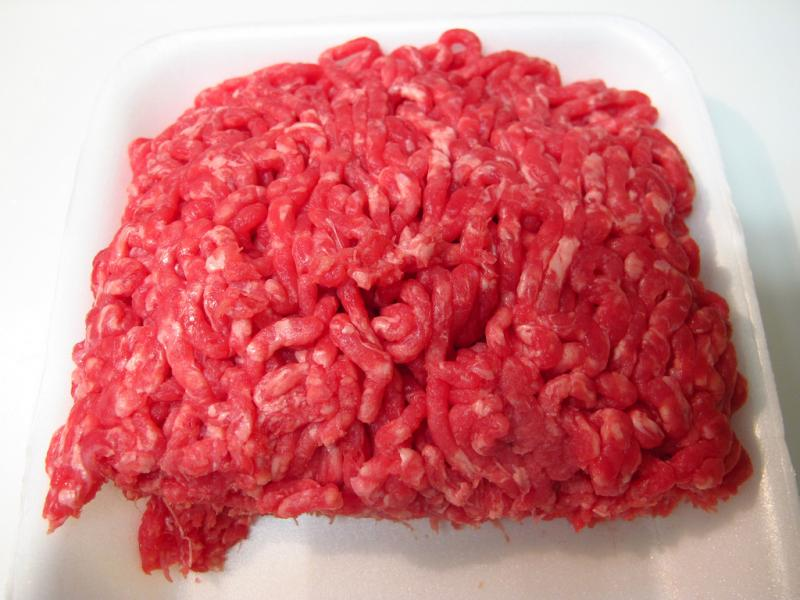 Health officials suspect undercooked ground beef.