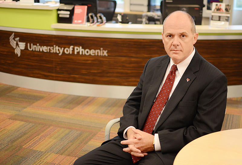 """The programs we offer are the ones that (veterans) desire,"" says Garland Williams, the University of  Phoenix's vice president for military affairs."