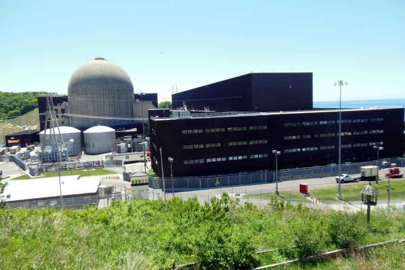 The Cook Nuclear Plant is located in Bridgeman, Michigan.