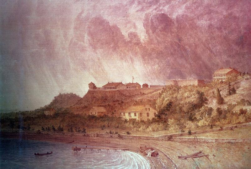 Fort Mackinac during the War of 1812