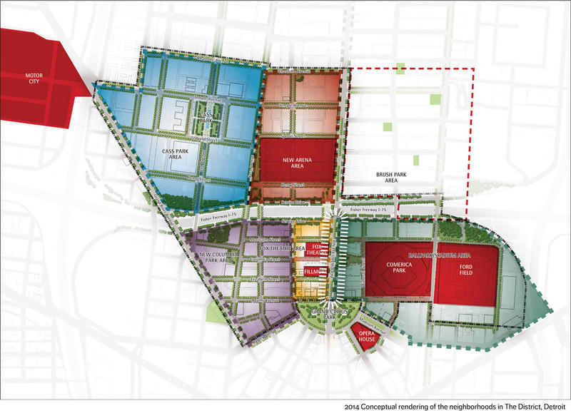 Plan to transform downtown Detroit released | Michigan Radio