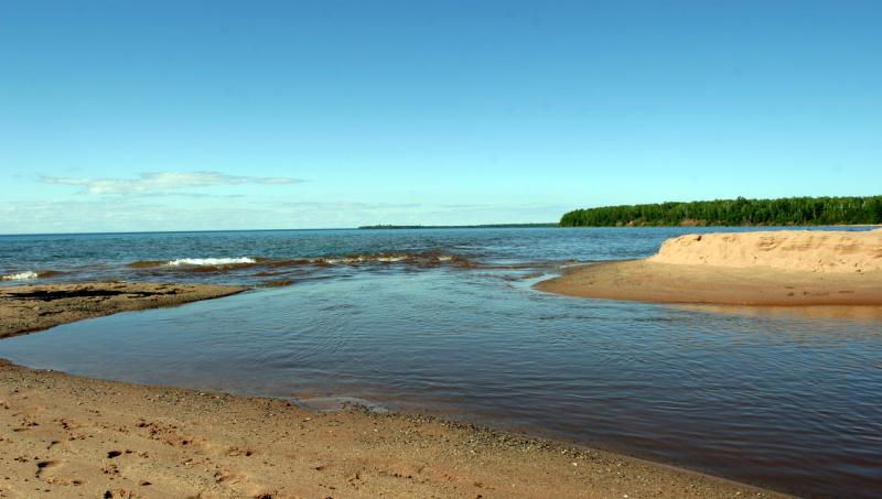 Apostle Island National Park on Lake Superior. The International Joint Commission's Health Professionals Advisory Board wants to examine contaminants at beaches among other indicators of the overall health of the Great Lakes.