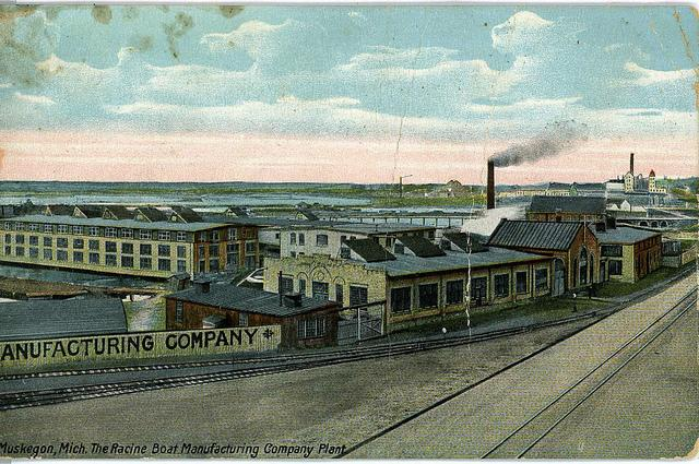 Racine Boat Manufacturing Company Plant, Muskegon, MI