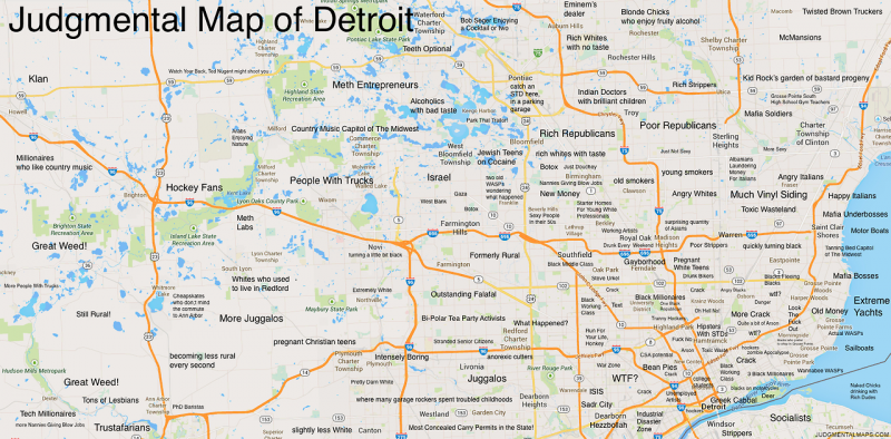 This map of metro Detroit is all wrong.