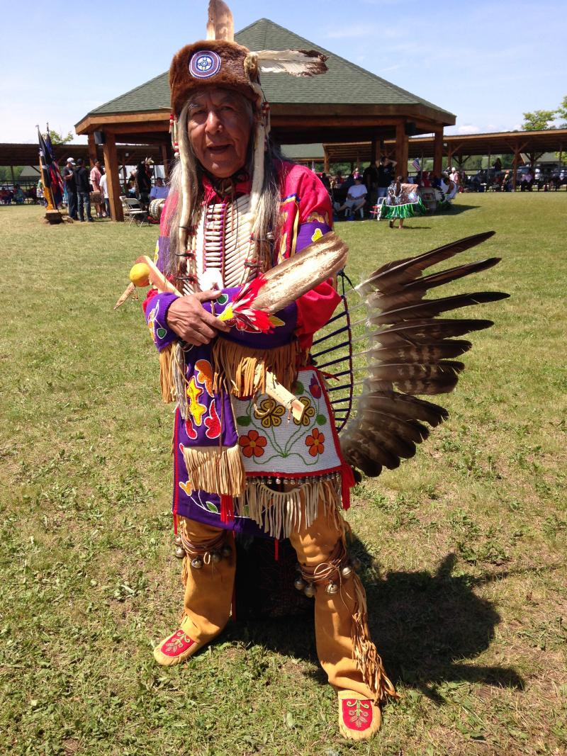 Earl Meshigaud is the cultural and spiritual leader of the Hannahville Indian Community