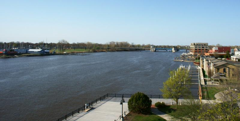 Saginaw River, Bay City