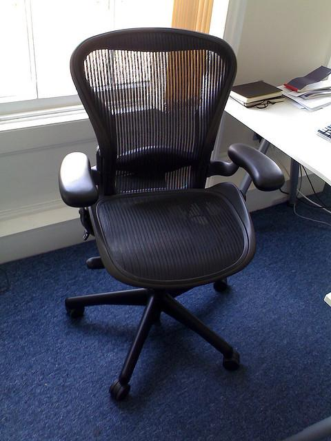 aeron chair was designed to break away from predictable office style