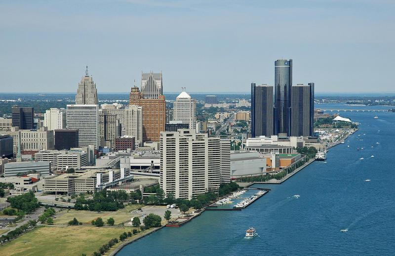 Detroit's riverfront.