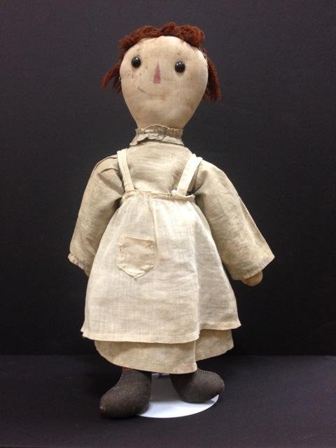 An original Raggedy Ann doll.