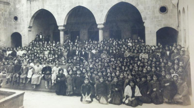Orphan Home in Aleppo, Syria in 1920.