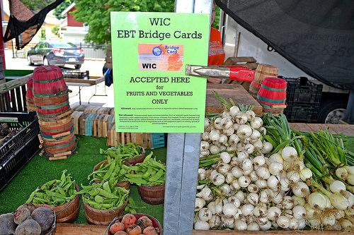 Bridge Cards are accepted at the Fulton Street Farmers Market in Grand Rapids.