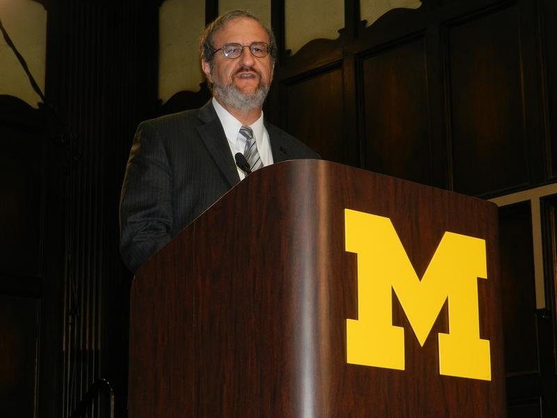 Universtiy of Michigan president Mark Schlissel
