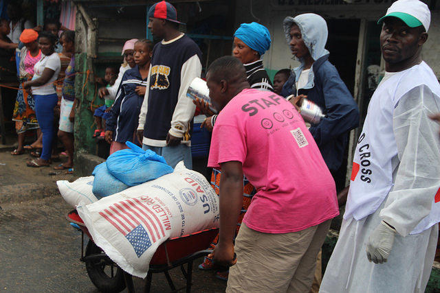 Helping fight Ebola in Monrovia