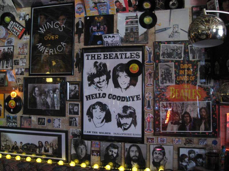 A small glimpse into the world of the Beatles And Beans Coffee Emporium